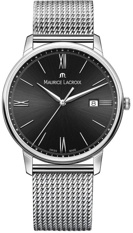 Maurice Lacroix Eliros Date Black Dial on Bracelet EL1118-SS002-310-1