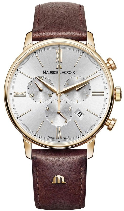 Maurice Lacroix Eliros Chronograph Silver Dial EL1098-PVP01-111-1