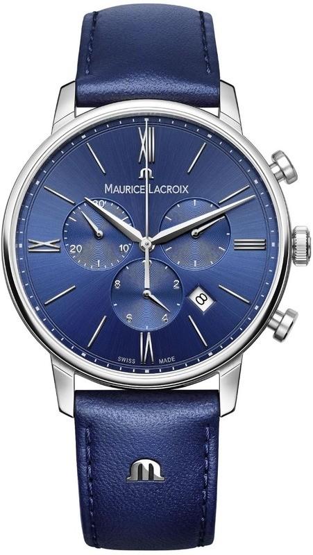 Maurice Lacroix Eliros Chronograph Blue Dial EL1098-SS001-410-1
