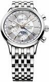 Maurice Lacroix Les Classiques Chronograph Phases De Lune Silver Dial
