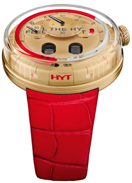 HYT Yellow Gold Red
