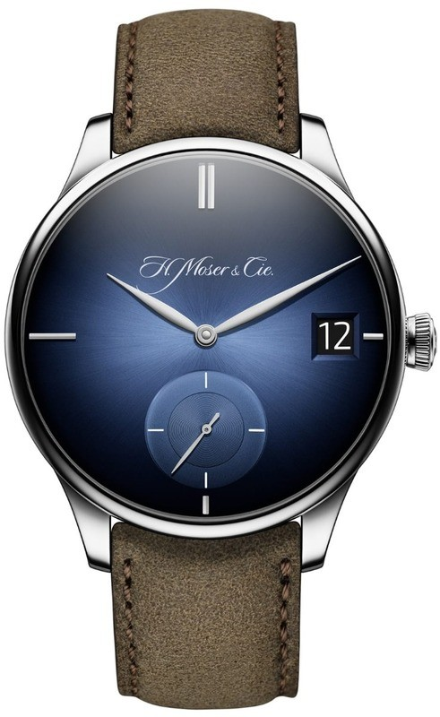 H. Moser & Cie. Venturer Big Date Purity Funky Blue 2100-0203