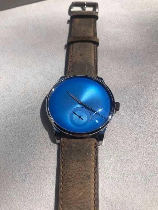 H. Moser & Cie. Venturer XL Arctic Blue Concept