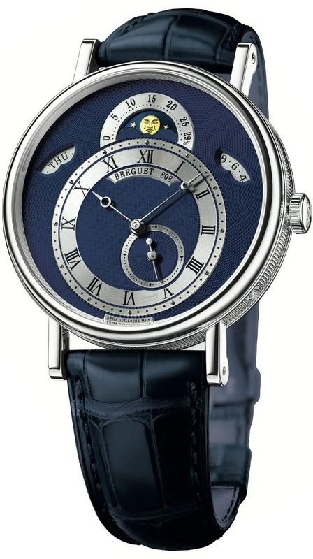 Breguet Classique 7337 Blue Dial