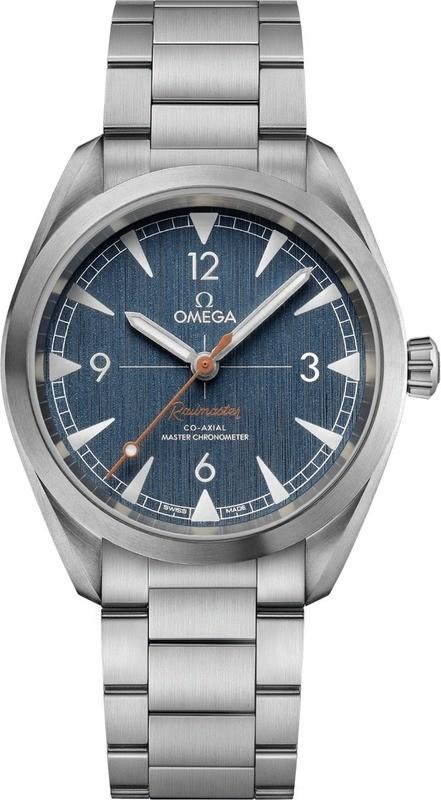Omega Railmaster Denim Co-Axial Master Chronometer
