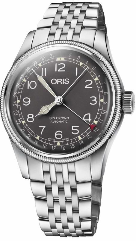 Oris Big Crown Pointer Date on Bracelet