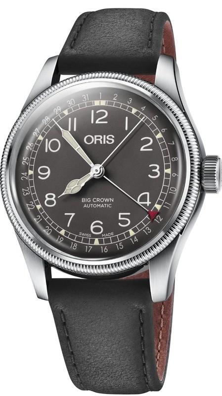 Oris Big Crown Pointer Date Black Dial