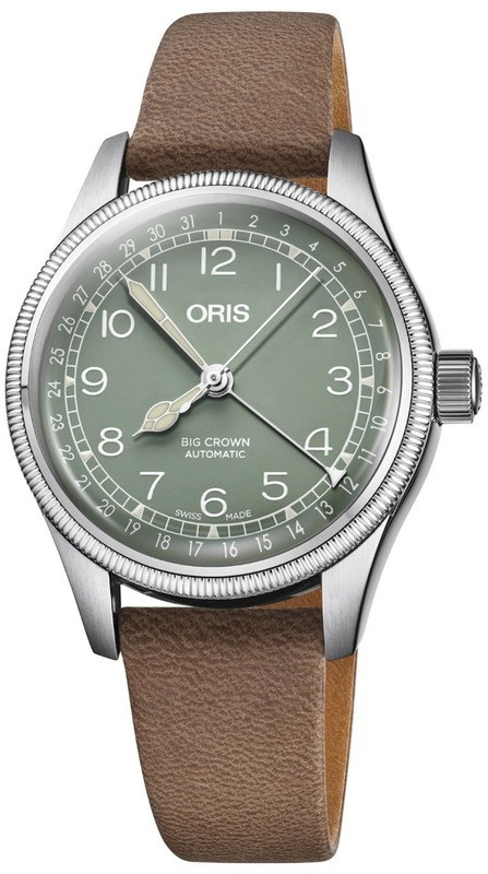 Oris Big Crown Pointer Date Green Dial