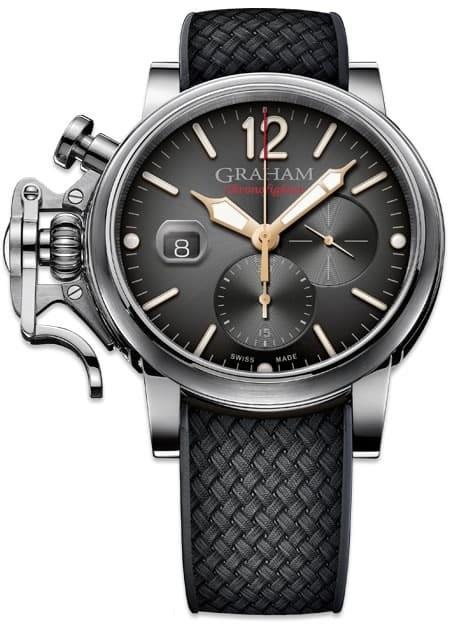 Graham Chronofighter Grand Vintage Black Dial