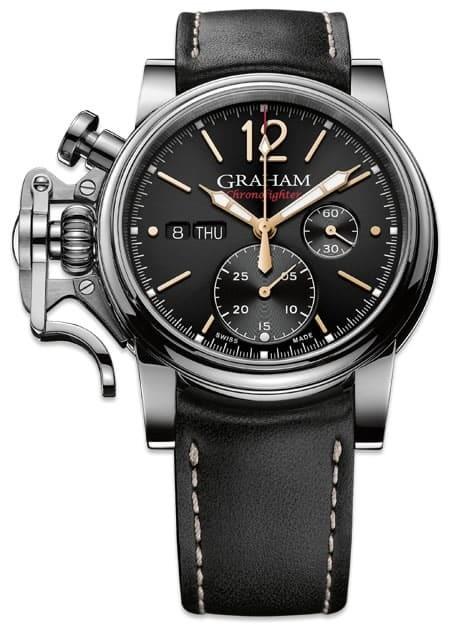 Graham Chronofighter Vintage Black Dial