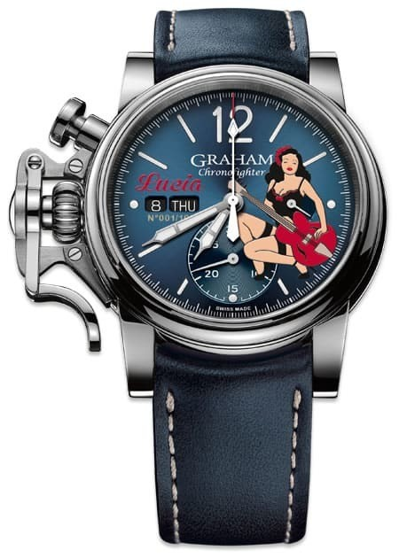 Graham Chronofighter Vintage Nose Art Limited Edition