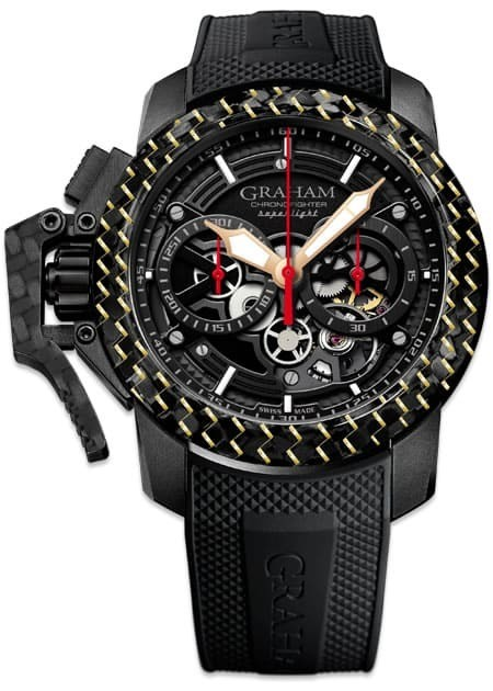 Graham Chronofighter Superlight Carbon Skeleton Limited Edition