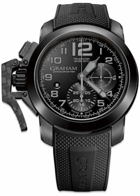 Graham Chronofighter Black & White