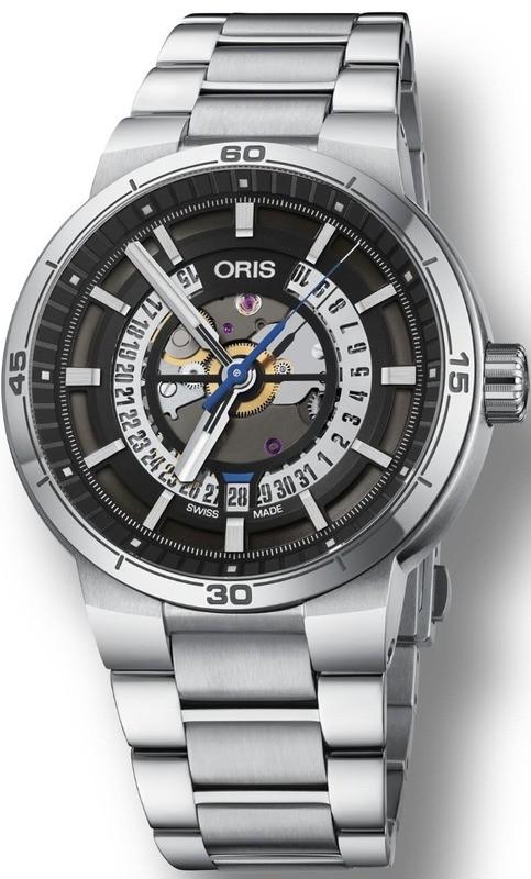 Oris TT1 Engine Date on Bracelet
