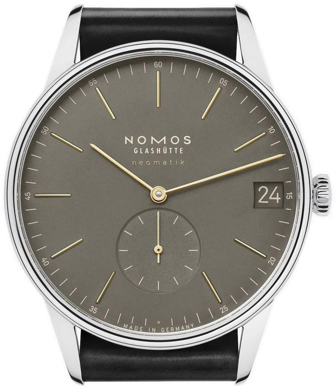 NOMOS Glashütte Orion Neomatik 41 Date Olive Gold