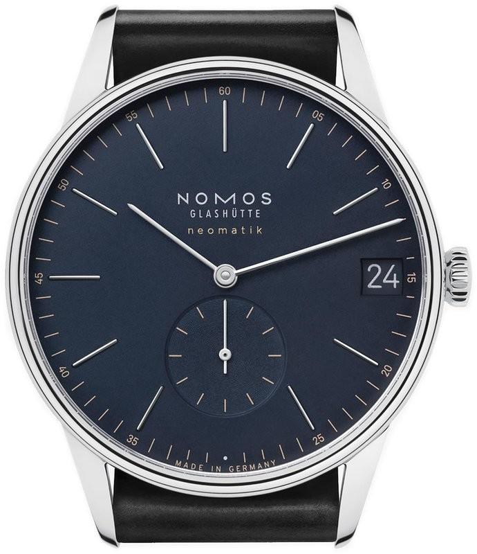NOMOS Glashütte Orion Neomatik 41 Date Midnight Blue
