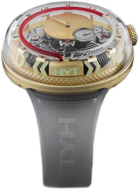 HYT H20 Time is Fluid Gold Limited Edition