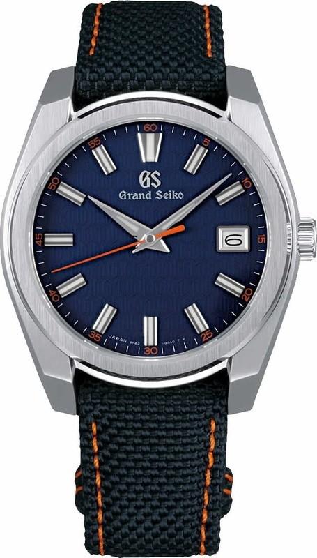 Grand Seiko Sport SBGV247 Quartz Blue Dial