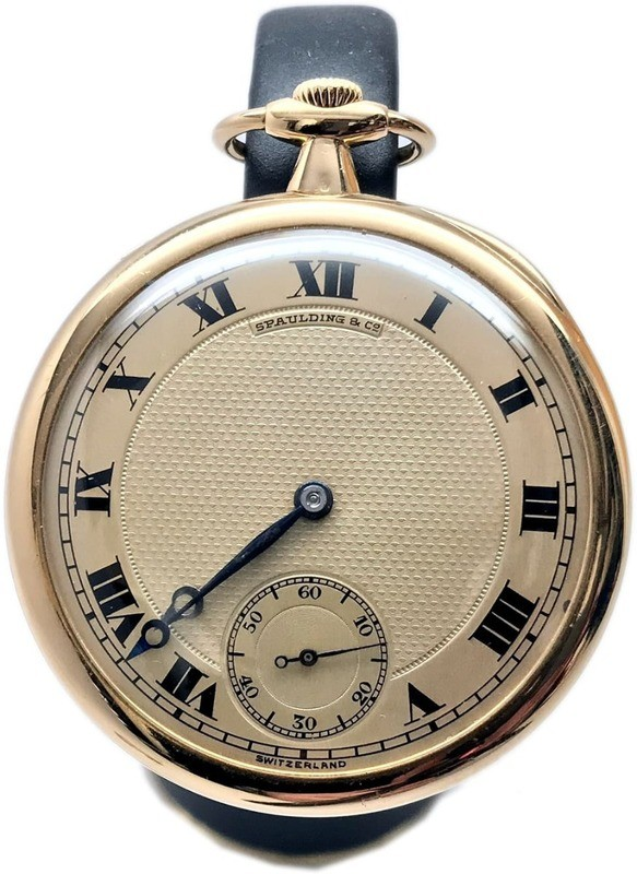 Spaulding & Co Patek Phillips Pocket Watch