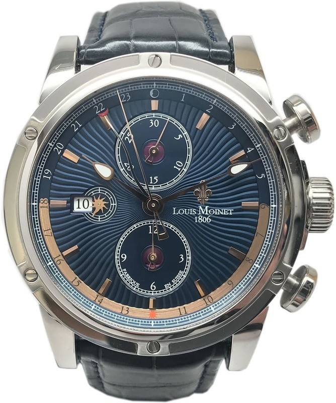Louis Moinet Geograph Limited Edition LM-24.10.25
