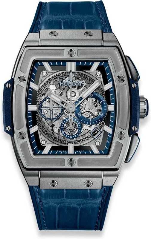 Hublot Spirit of Big Bang Titanium Blue 42mm