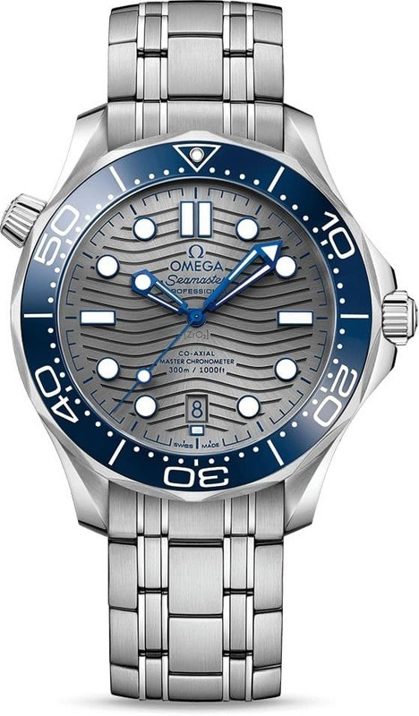 Omega Seamaster Diver 300M Co-Axial Master Chronometer on Bracelet