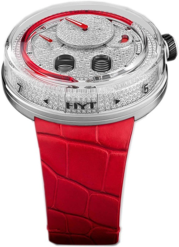 HYT H0 Full Pave Red