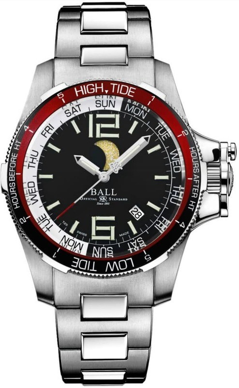 Ball Engineer Hydrocarbon Moon Navigator Black Dial