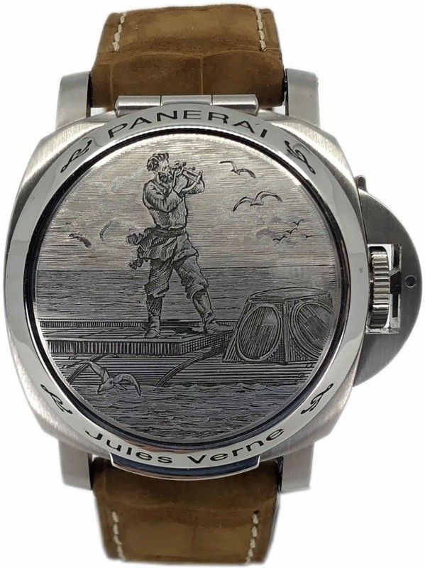 Panerai Luminor Sealand For Purdey Jules Verne Limited Edition PAM00216