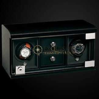 Underwood Watch Winder Twin-Module with Compartment trays