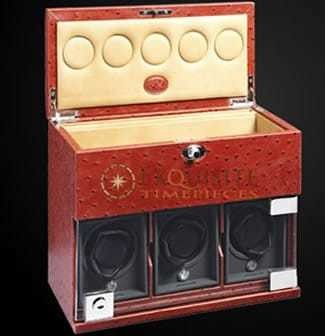 Underwood Watch Winder three module with comparment trays