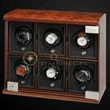 Underwood Watch Winder Six Module Unit Briarwood