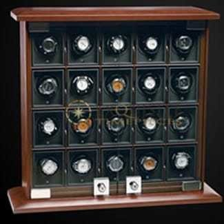 Underwood Watch Winder Twenty Module Unit Briarwood