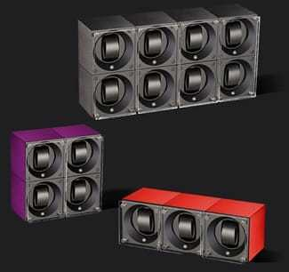 Swiss Kubik Watch Winder Multiple Aluminium