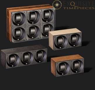 Swiss Kubik Watch Winder Multiple Wood 4 Watches And More