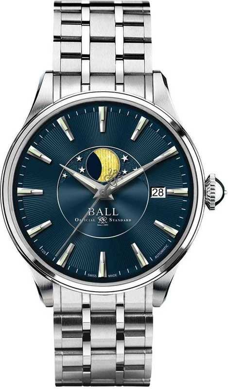 Ball Watch Trainmaster Moon Phase NM3082D-SJ-BE