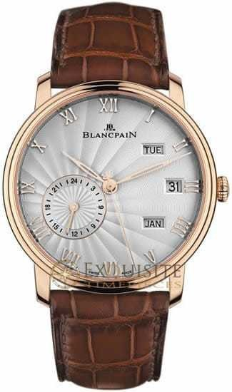 Blancpain Villeret Annual Calendar With GMT 6670-3642-55B