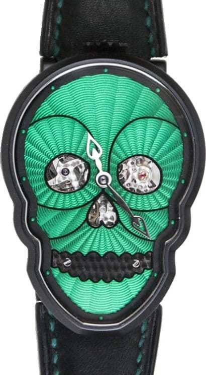 Fiona Krüger Petit Skull Black and Green