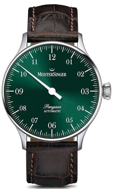 MeisterSinger Pangaea Sunburst Green PM909