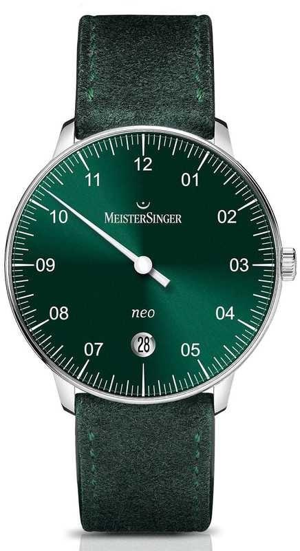 MeisterSinger Neo Sunburst Green NE909N