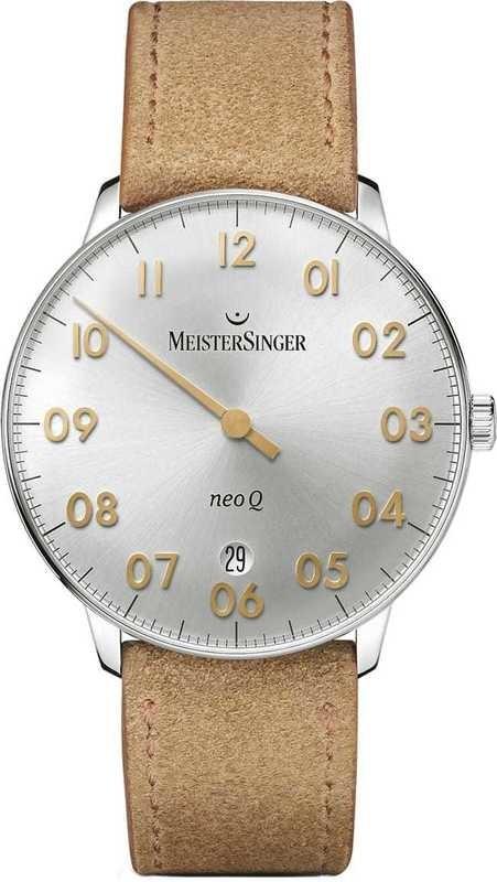 MeisterSinger Neo Q Silver NQ901GN
