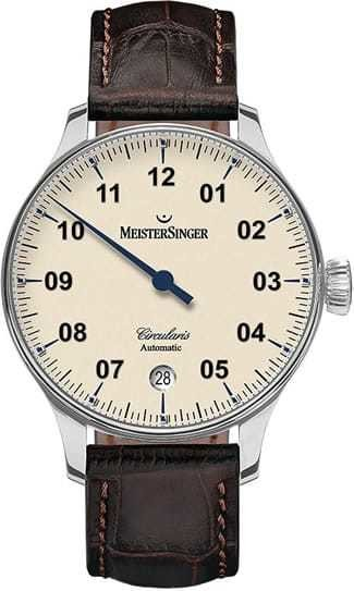 MeisterSinger Circularis Automatic Ivory Dial CC903