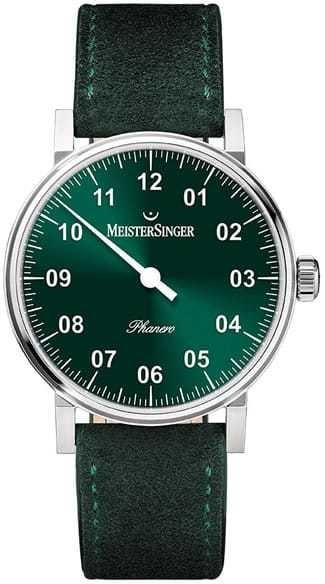 MeisterSinger Phanero Sunburst Green PH309