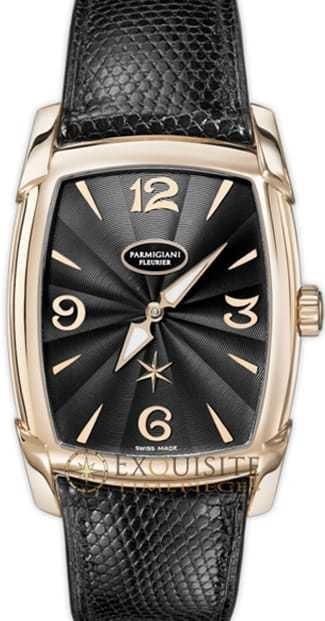 Parmigiani Fleurier Kalparisma Nova Rose Gold Black PFC125-1001400-HL1421