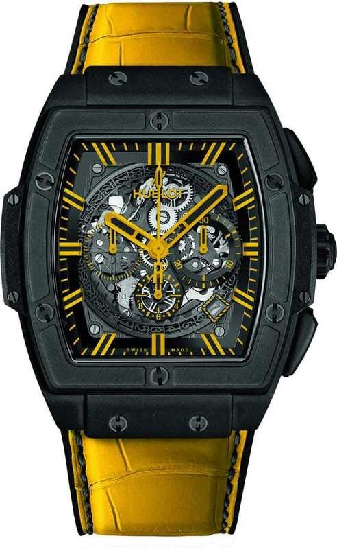 Hublot Spirit of Big Bang All Black Yellow
