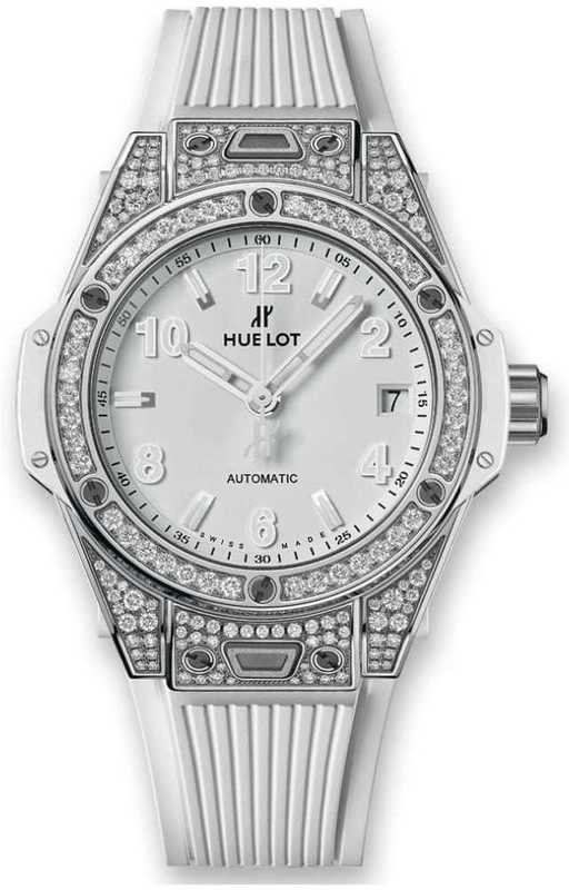 Hublot Big Bang One Click Steel White Pavé 465.SE.2010.RW.1604