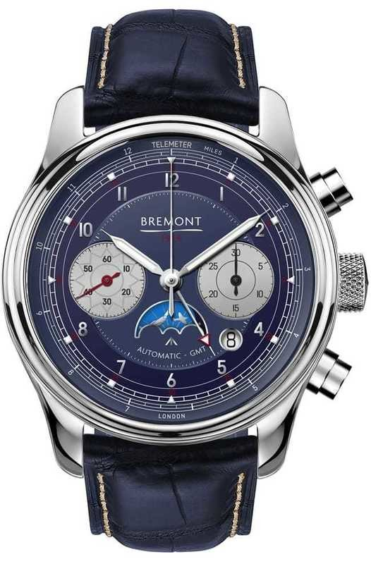 Bremont 1918 White Gold Limited Edition