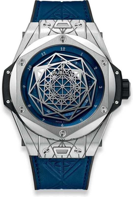 Hublot Big Bang Sang Bleu Titanium Blue 45mm
