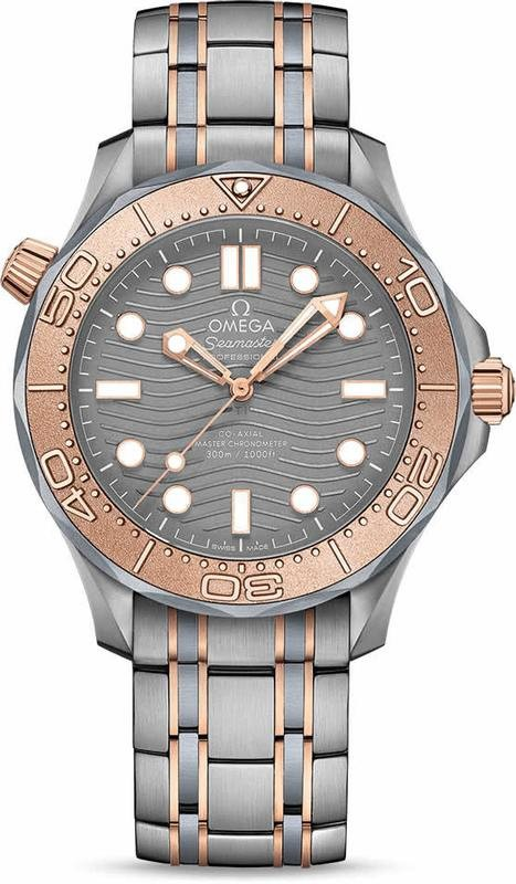 Omega Seamaster Diver 300M Co-Axial Master Chronometer Tantalum Limited Edition