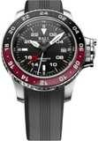 Ball Engineer Hydrocarbon AeroGMT II Black Dial on Strap